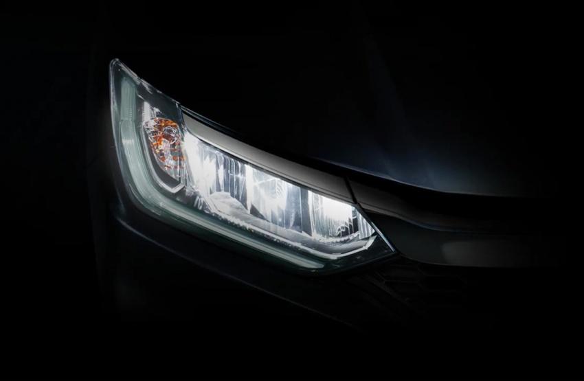 Honda City 2017 facelift tayang teaser hadapan pula Image #599272