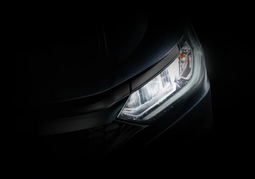 2017 Honda City facelift teased again – front shown Image #599251