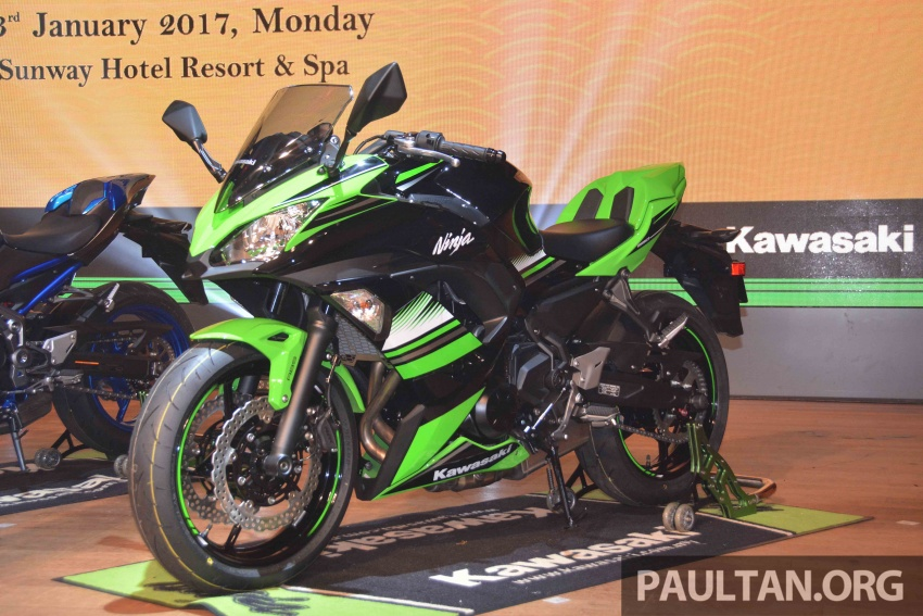 2017 Kawasaki Z900, Ninja 650, Z650 and Versys-X 250 launched in Malaysia – prices start from below RM25k Image #607778