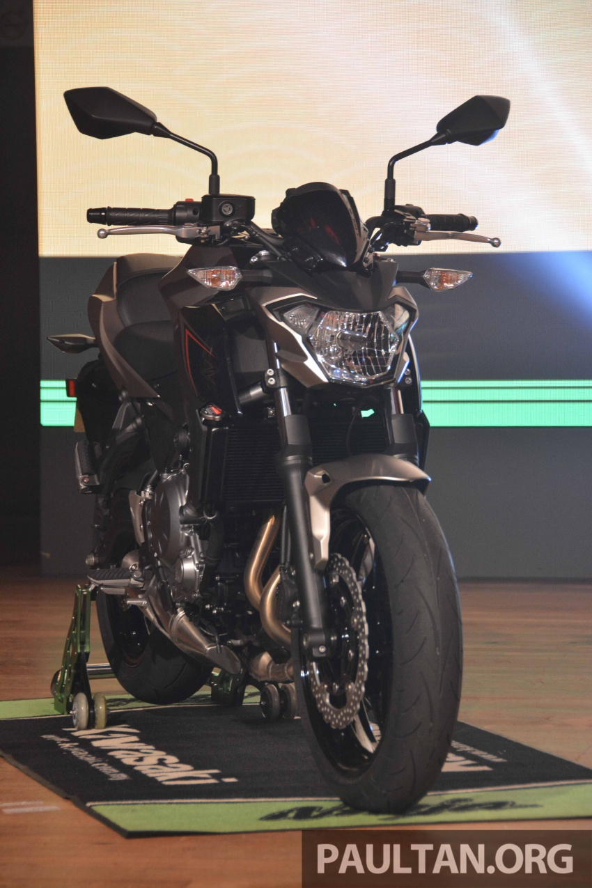 2017 Kawasaki Z900, Ninja 650, Z650 and Versys-X 250 launched in Malaysia – prices start from below RM25k Image #607803