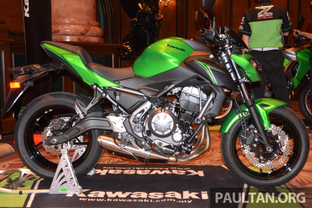 Also New For The 2017 Kawasaki Z650 Is A Monochrome LCD Instrument Cluster And Fuel Carried In 15 Litre Tank Wet Weight Claimed To Be 187 Kg