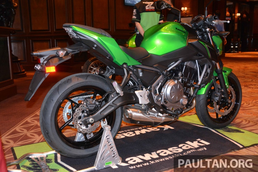 2017 Kawasaki Z900, Ninja 650, Z650 and Versys-X 250 launched in Malaysia – prices start from below RM25k Image #607805