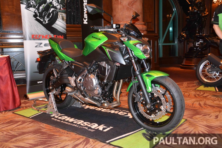2017 Kawasaki Z900, Ninja 650, Z650 and Versys-X 250 launched in Malaysia – prices start from below RM25k Image #607806