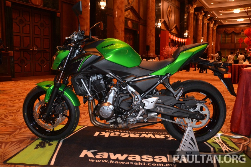 2017 Kawasaki Z900, Ninja 650, Z650 and Versys-X 250 launched in Malaysia – prices start from below RM25k Image #607809