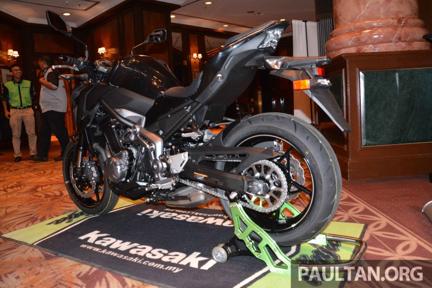 2017 Kawasaki Z900, Ninja 650, Z650 and Versys-X 250 launched in Malaysia – prices start from below RM25k Image #607788