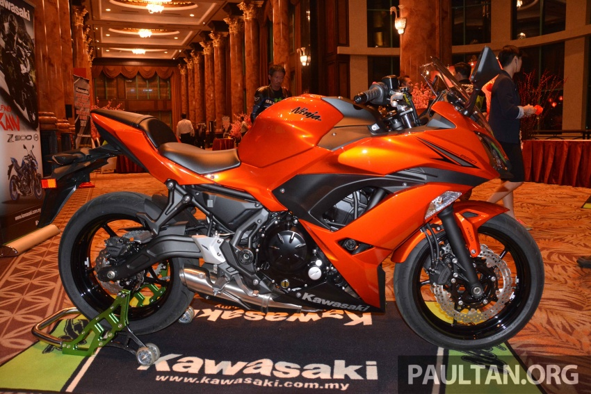 2017 Kawasaki Z900, Ninja 650, Z650 and Versys-X 250 launched in Malaysia – prices start from below RM25k Image #607799
