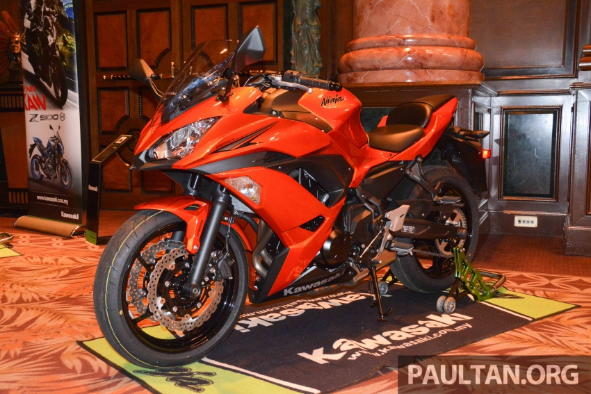 2017 Kawasaki Z900, Ninja 650, Z650 and Versys-X 250 launched in Malaysia – prices start from below RM25k Image #607800