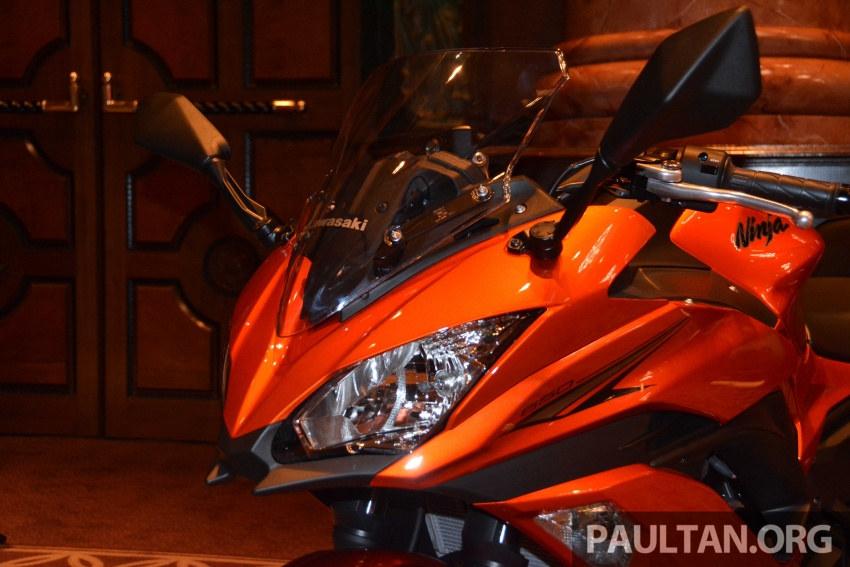2017 Kawasaki Z900, Ninja 650, Z650 and Versys-X 250 launched in Malaysia – prices start from below RM25k Image #607802