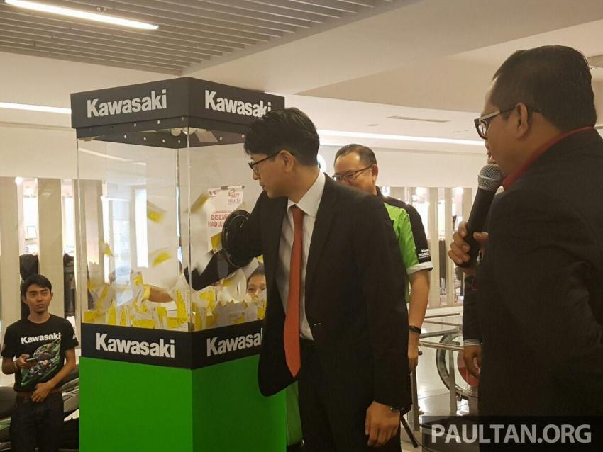 Kelantan man wins Kawasaki H2 hyperbike lucky draw Image #606443