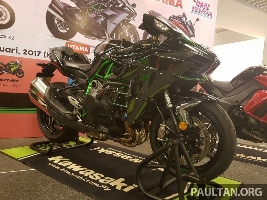 Kelantan man wins Kawasaki H2 hyperbike lucky draw Image #606444