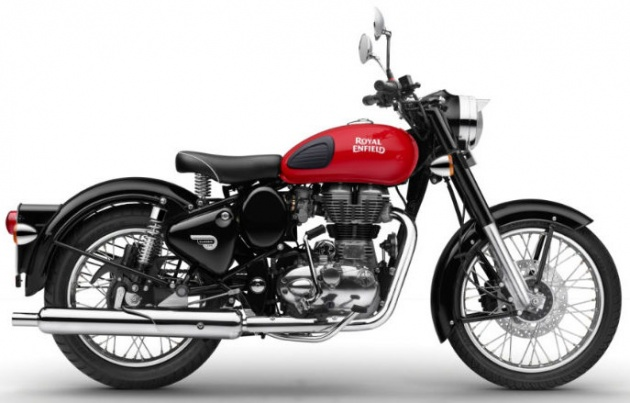 2017 Royal Enfield Classic 350 Three New Colours