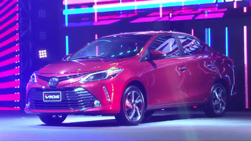 2017 Toyota Vios facelift officially launched in Thailand Image #607385