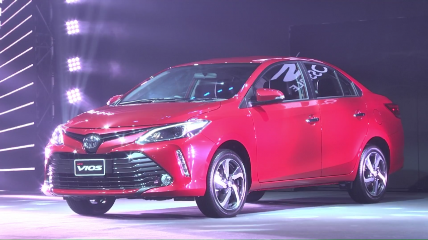 2017 Toyota Vios facelift officially launched in Thailand Image #607388