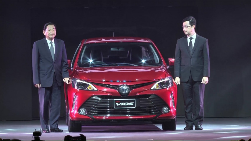 2017 Toyota Vios facelift officially launched in Thailand Image #607389