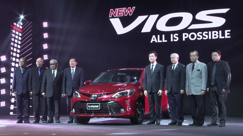 2017 Toyota Vios facelift officially launched in Thailand Image #607390