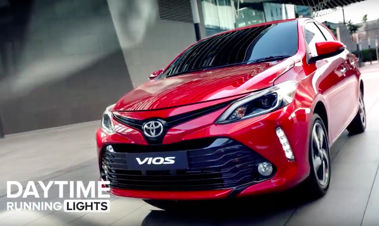 2017 Toyota Vios Facelift Officially Launched In Thailand