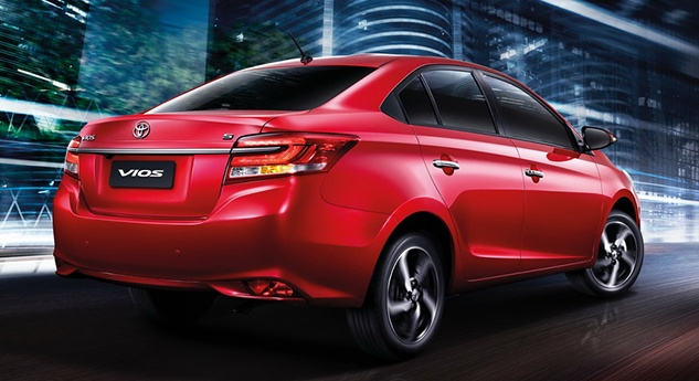 2017 Toyota Vios facelift officially launched in Thailand Image #607365