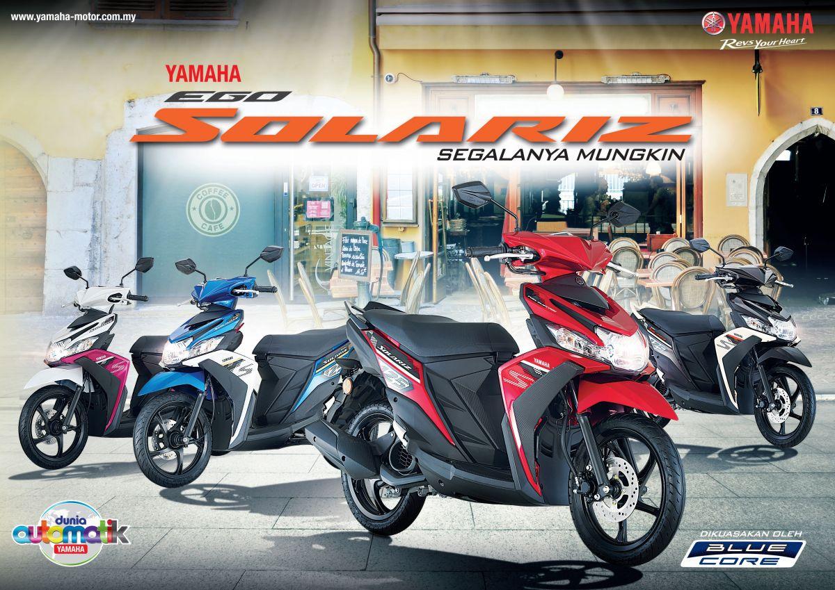 2017 yamaha ego solariz malaysian launch rm5548