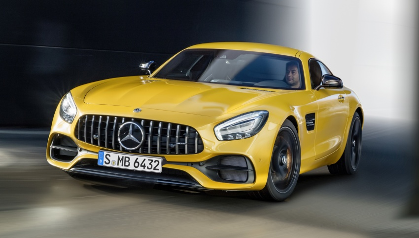 Mercedes-AMG GT C Coupe debuts in Detroit – AMG GT and GT S get styling and tech updates for 2017 Image #601106