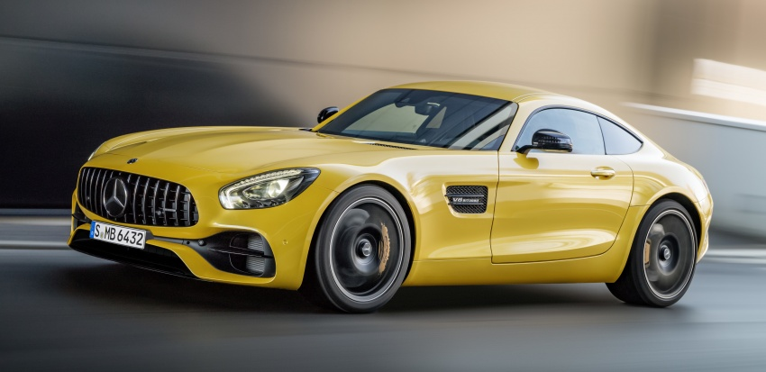 Mercedes-AMG GT C Coupe debuts in Detroit – AMG GT and GT S get styling and tech updates for 2017 Image #601107