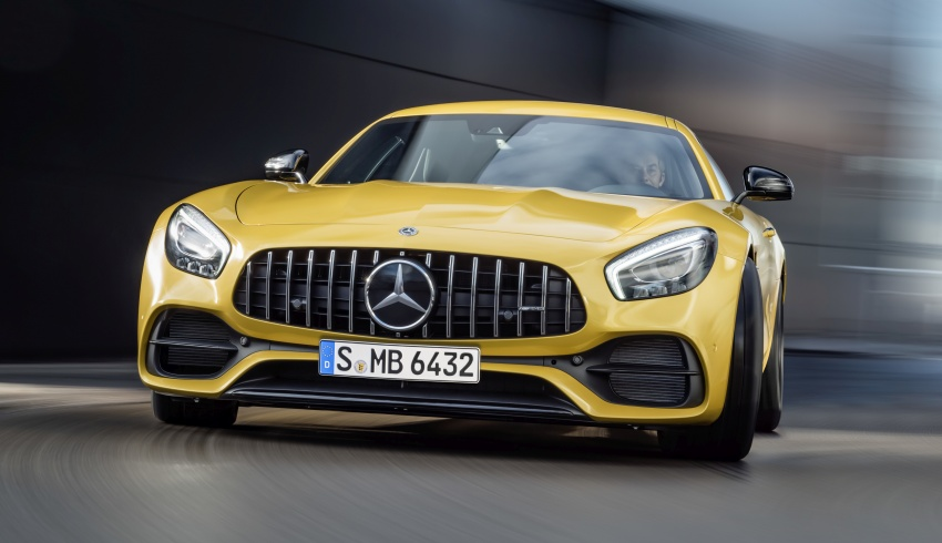 Mercedes-AMG GT C Coupe debuts in Detroit – AMG GT and GT S get styling and tech updates for 2017 Image #601108