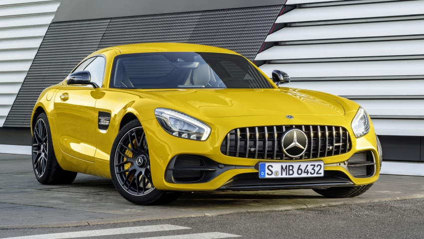 Mercedes-AMG GT C Coupe debuts in Detroit – AMG GT and GT S get styling and tech updates for 2017 Image #601111