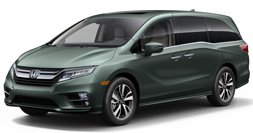 2018 Honda Odyssey makes debut at Detroit Auto Show – 3.5L i-VTEC V6; 10-speed automatic gearbox Image #600945
