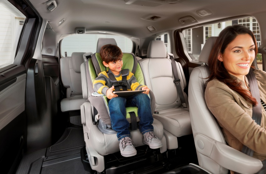 2018 Honda Odyssey makes debut at Detroit Auto Show – 3.5L i-VTEC V6; 10-speed automatic gearbox Image #600965