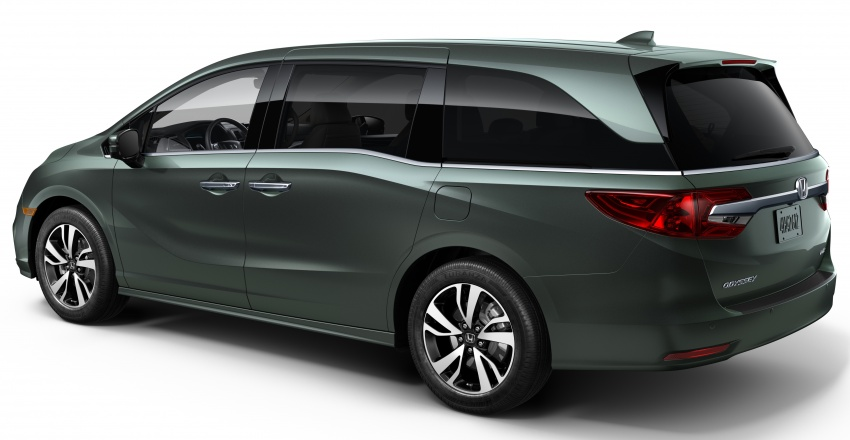2018 Honda Odyssey makes debut at Detroit Auto Show – 3.5L i-VTEC V6; 10-speed automatic gearbox Image #600946