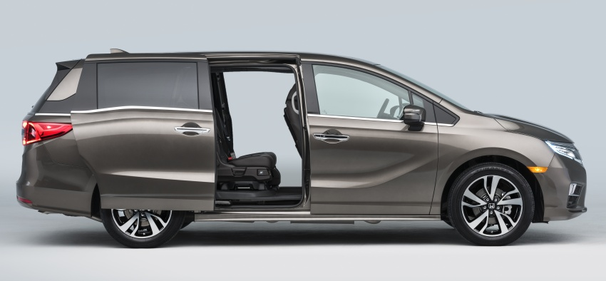 2018 Honda Odyssey makes debut at Detroit Auto Show – 3.5L i-VTEC V6; 10-speed automatic gearbox Image #600957