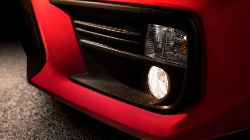 2018 Subaru WRX and STI get visual, drive updates Image #599180