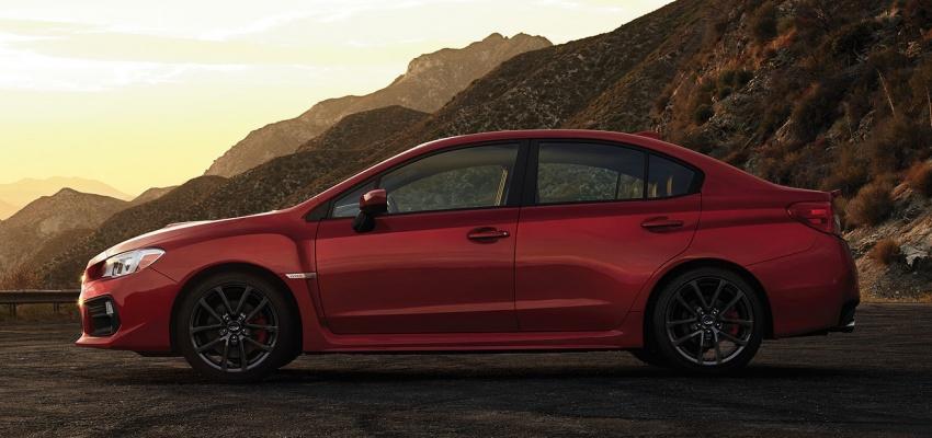 2018 Subaru WRX and STI get visual, drive updates Image #599181