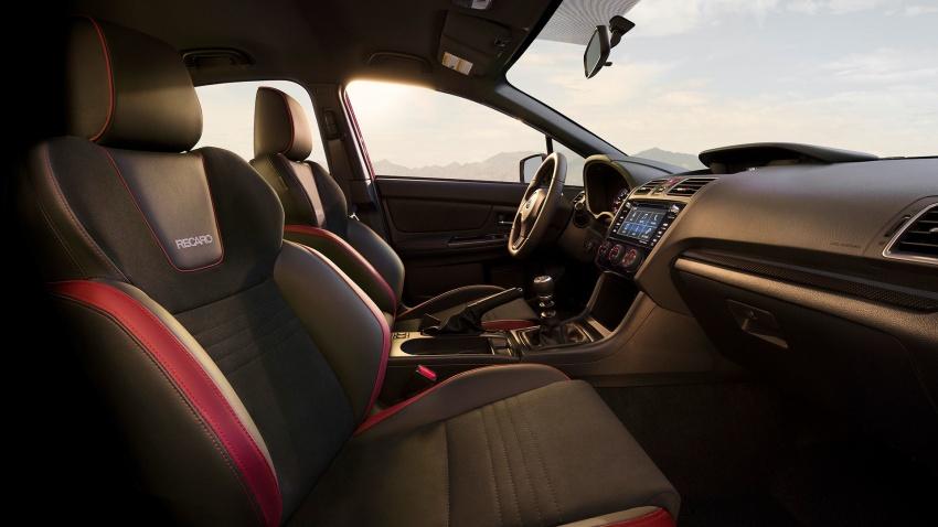 2018 Subaru WRX and STI get visual, drive updates Image #599182