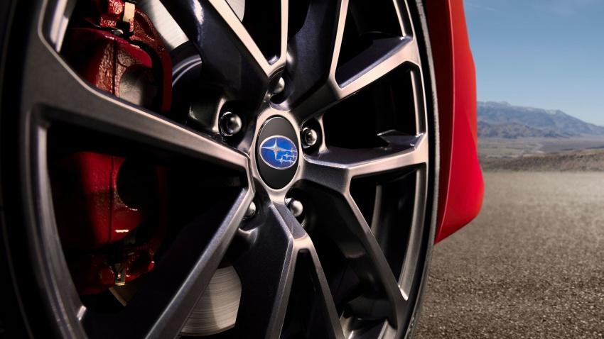 2018 Subaru WRX and STI get visual, drive updates Image #599185