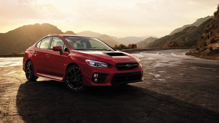 2018 Subaru WRX and STI get visual, drive updates Image #599167