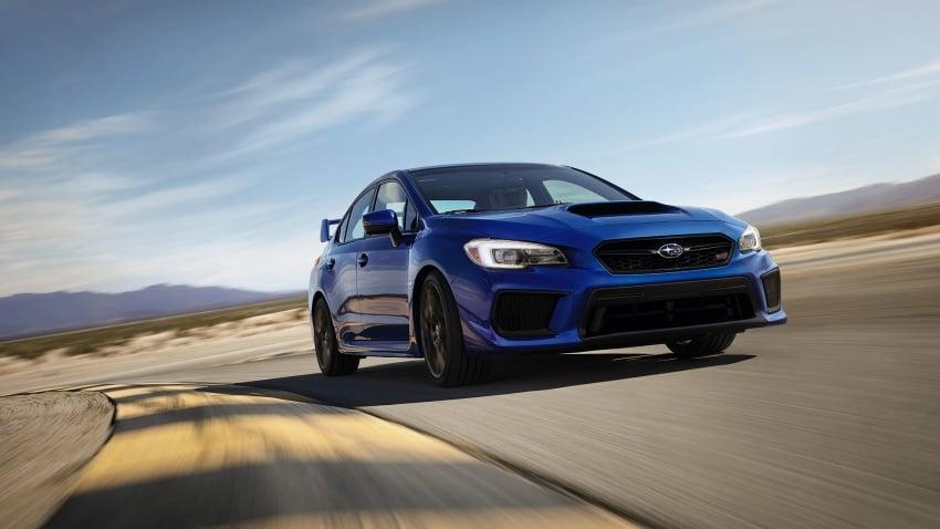 2018 Subaru WRX and STI get visual, drive updates Image #599159