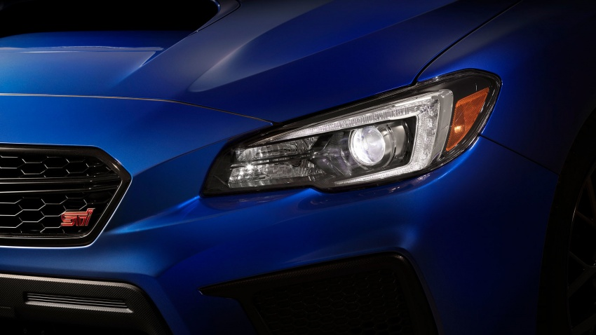 2018 Subaru WRX and STI get visual, drive updates Image #599161