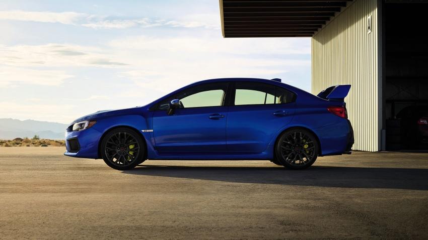 2018 Subaru WRX and STI get visual, drive updates Image #599162