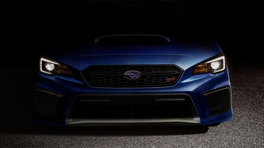 2018 Subaru WRX and STI get visual, drive updates Image #599169