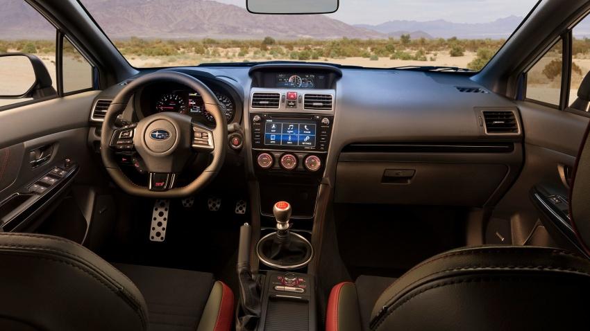 2018 Subaru WRX and STI get visual, drive updates Image #599172