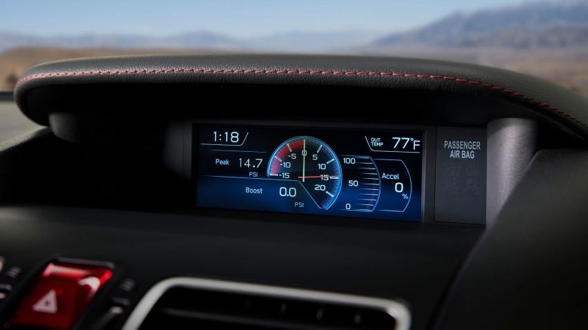 2018 Subaru WRX and STI get visual, drive updates Image #599173