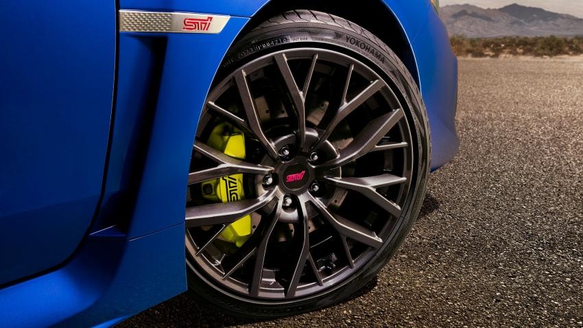 2018 Subaru WRX and STI get visual, drive updates Image #599175