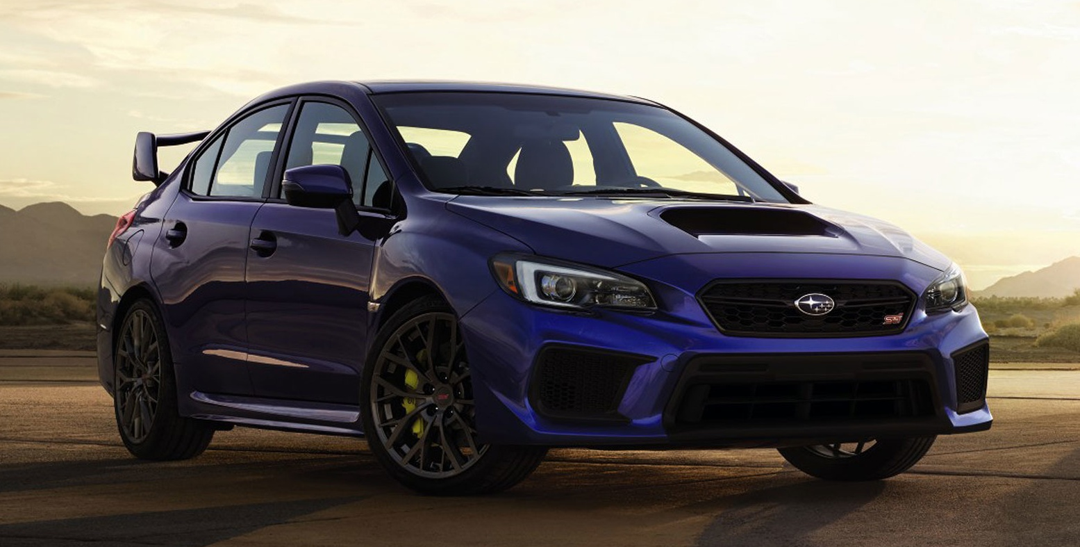 2018 subaru wrx and sti get visual drive updates. Black Bedroom Furniture Sets. Home Design Ideas