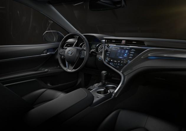 2018 Toyota Camry  longer and lower with TNGA platform 25L VVT