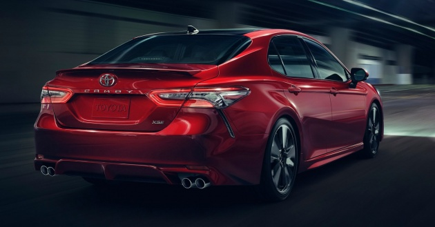 new car release malaysia2018 Toyota Camry  longer and lower with TNGA platform 25L VVT