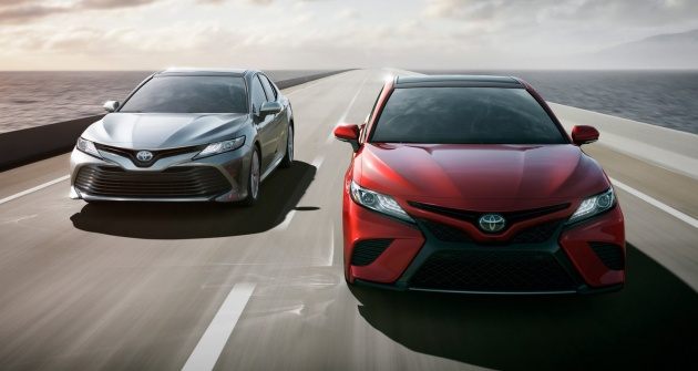 2018 Toyota Camry Longer And Lower With Tnga Platform 2 5l Vvt Ie