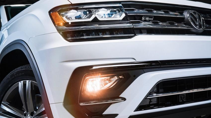 Volkswagen Atlas dengan pakej R-Line didedahkan Image #599438