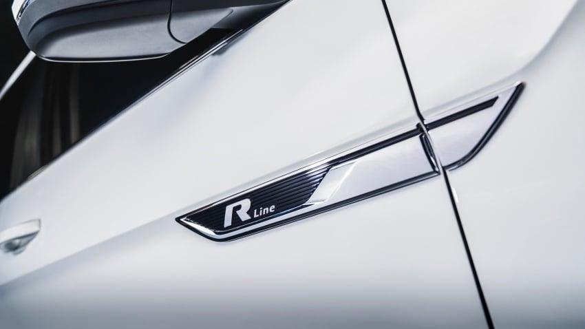 Volkswagen Atlas dengan pakej R-Line didedahkan Image #599435