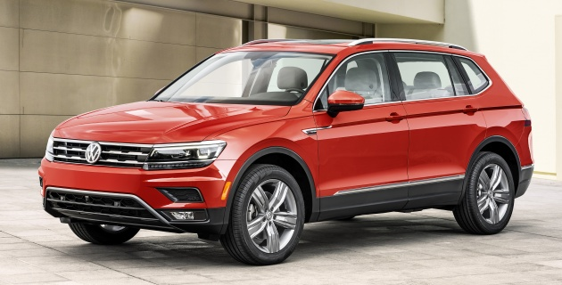 Volkswagen Tiguan 2017 7 Seater >> 2018 Volkswagen Tiguan Allspace 7 Seater Lwb Suv