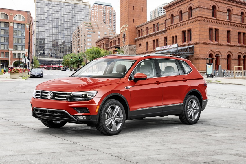 Back to Story: 2018 Volkswagen Tiguan Allspace – 7-seater LWB SUV